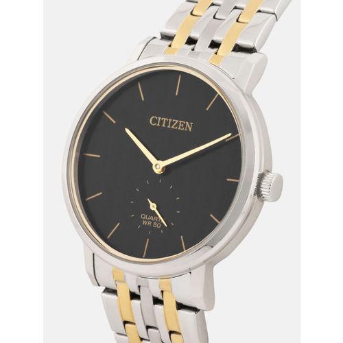 Citizen Men Black Analogue Watch BE9174-55E