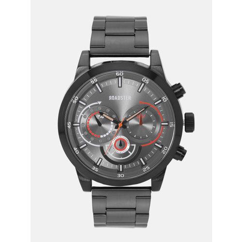 Roadster Men Gunmetal-Toned Analogue Watch MFB-PN-WTH-5845G-3