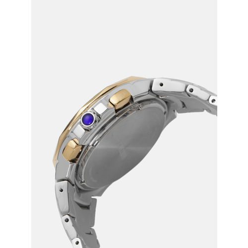 SEIKO Men Blue Chronograph Watch SSC750P1
