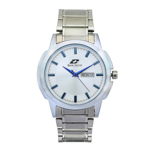 Bern Suisse Men White Analogue Watch BS-JP2030-013B