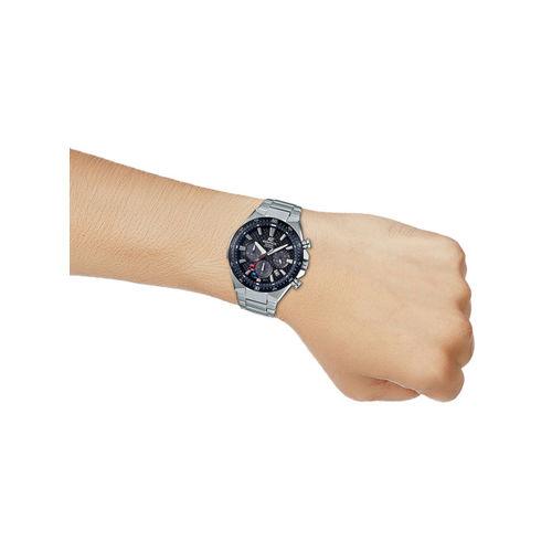 CASIO Edifice Men Black Dial Solar Sapphire Watch EFS-S520CDB-1AUEF - EX474