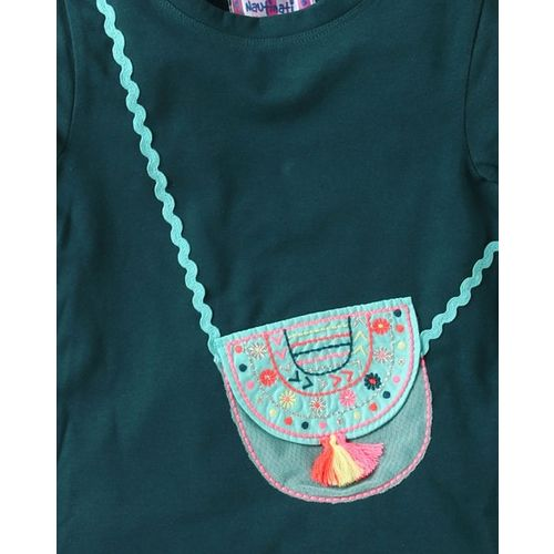 NAUTI NATI Round-Neck T-shirt with Applique