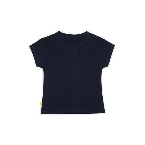 ALLEN SOLLY Printed Crew-Neck T-shirt
