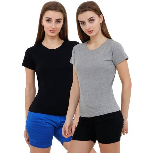 Reifica Solid Round Combo T-Shirt