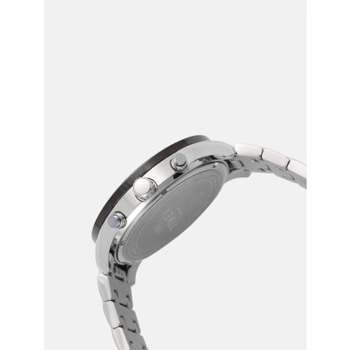 Timex Men White Skeleton Chronograph Watch TWEG15215