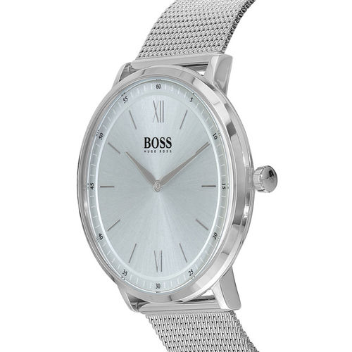 Hugo Boss Men Grey Analogue Watch 1513650