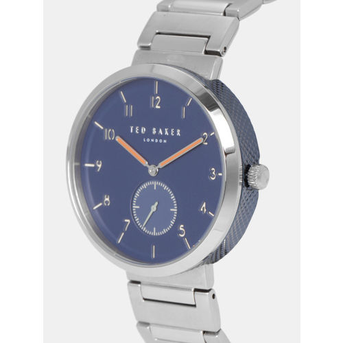 Ted Baker Men Navy Blue Analogue Watch TE50011009