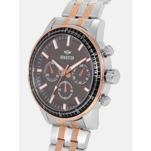 Roadster Men Grey Analogue Watch MFB-PN-LB-W3162G
