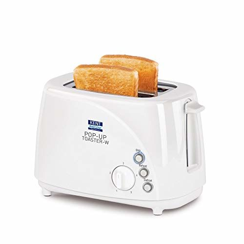 Kent 16031 700 W Pop Up Toaster(White)