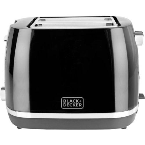 Black & Decker BXTO0202IN 870 W Pop Up Toaster(Black)
