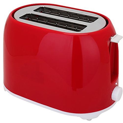Utility CI-604 750 W Pop Up Toaster(Red)