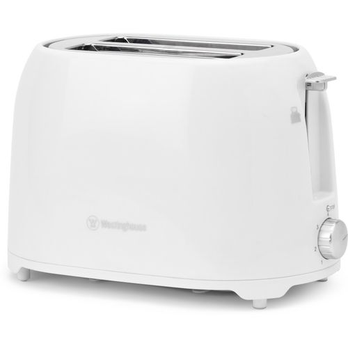 Westinghouse T02WPP-CT 750 W Pop Up Toaster(White)