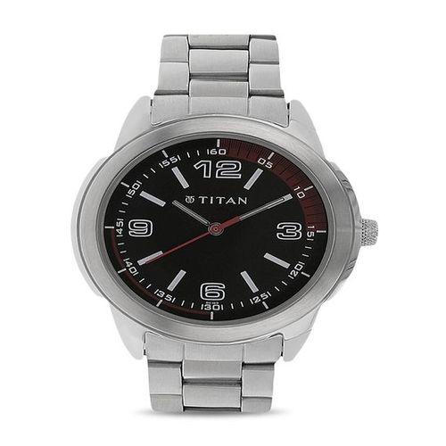 Titan NK1585SM02 Octane Analog Watch for Men