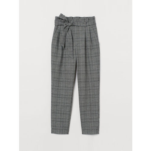 H&M Women Paper bag trousers