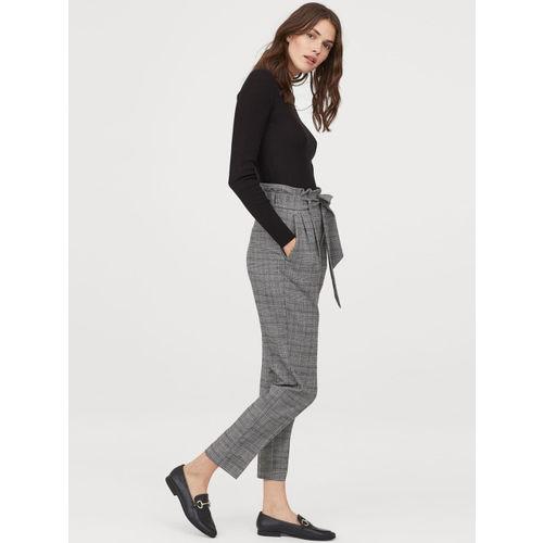 H&M Women Paper bag trousers