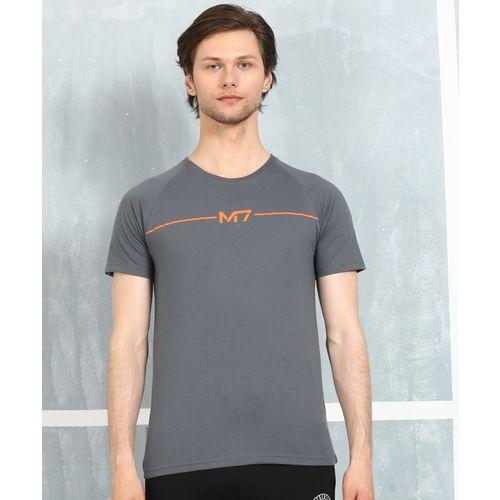 Metronaut Grey Cotton Printed Regular Fit T-Shirt