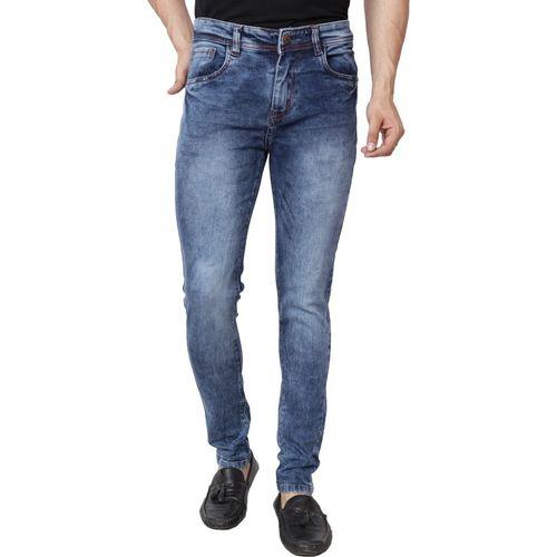 Bestloo Slim Men Dark Blue Jeans