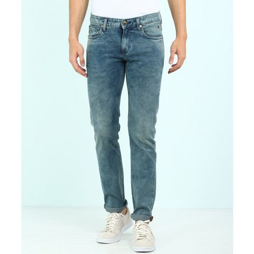 Louis Philippe Jeans Slim Men Blue Jeans