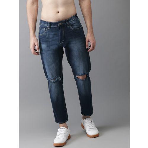 HERE&NOW Regular Men Blue Jeans