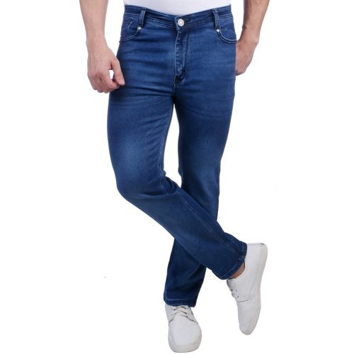 NEBRASKA Stretchable Regular Men Blue Jeans