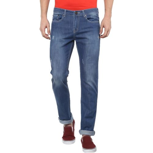 American Crew Regular Men Light Blue Jeans