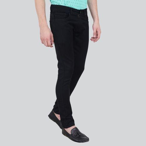 Trend Slim Men Black Jeans