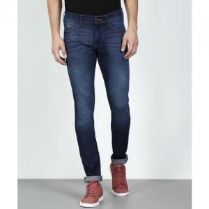 Wrangler Skinny Men's Dark Blue Jeans