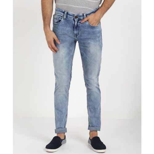 Spykar Skinny Men Light Blue Jeans