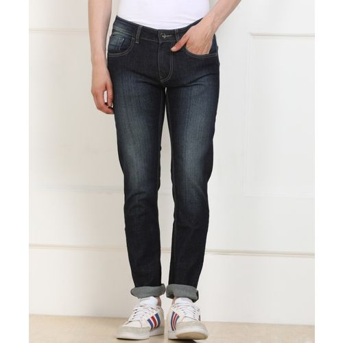 Flying Machine Skinny Men Dark Blue Jeans