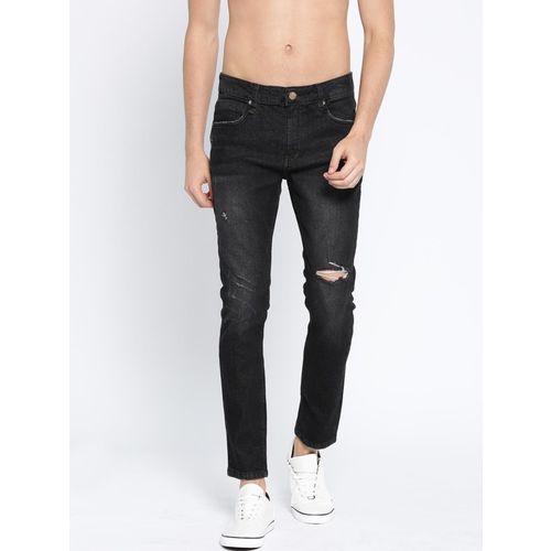 Roadster Regular Men Black Jeans