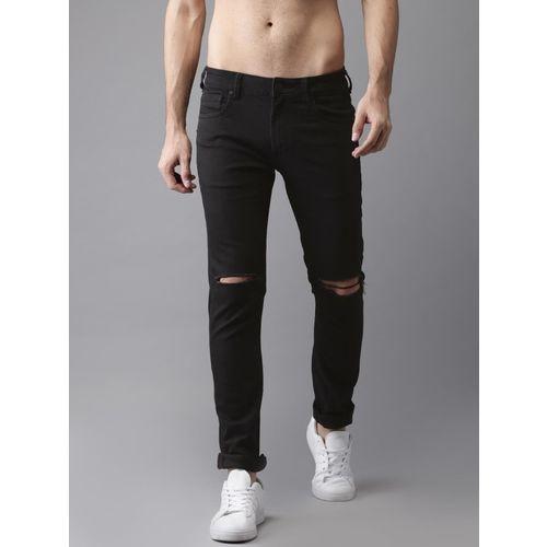 Moda Rapido Skinny Men Black Jeans