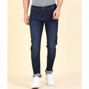 Wrangler Skinny Men Dark Blue Jeans