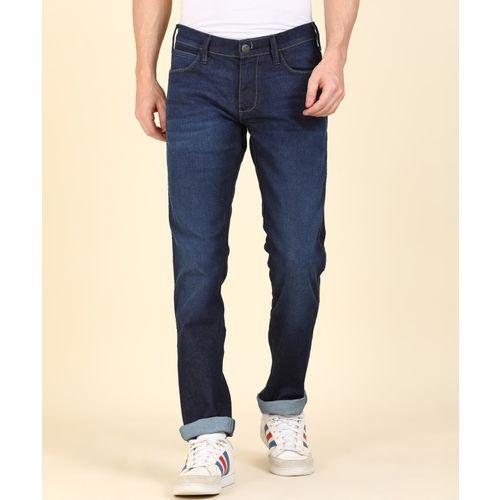 Wrangler Slim Men Dark Blue Jeans