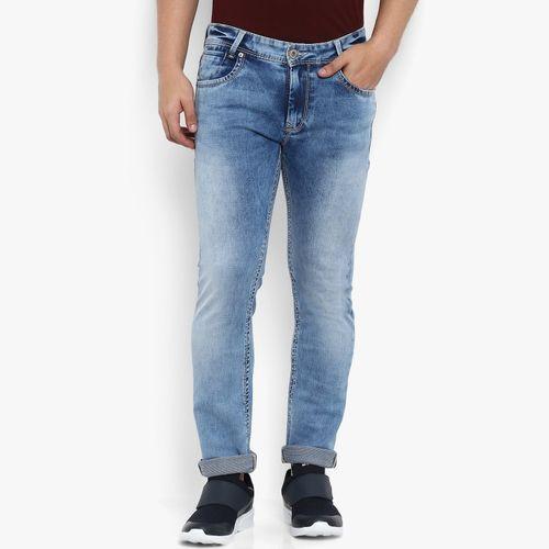 Mufti Regular Men Light Blue Jeans