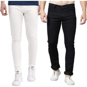 STANBURT Slim Men Multicolor Jeans(Pack of 2)