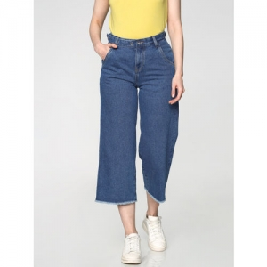 ONLY Women Blue Relaxed Fit High-Rise Clean Look Jeans