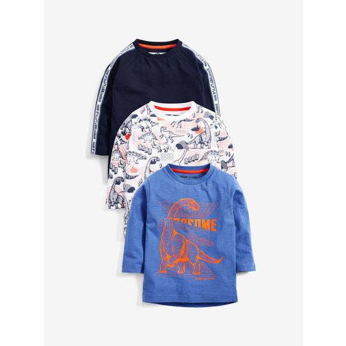 next Boys Multicoloured Printed Round Neck T-shirt