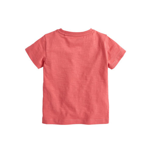 next Boys Pink Printed Round Neck T-shirt