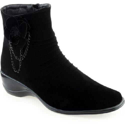 DARLING DEALS Boots For Women(Black)
