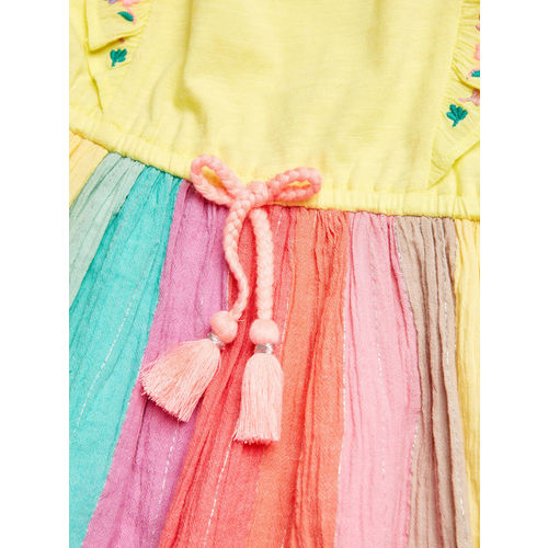next Girls Multicoloured Fit and Flare Dress