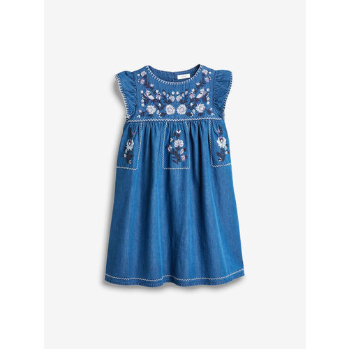 next Girls Blue A-Line Dress