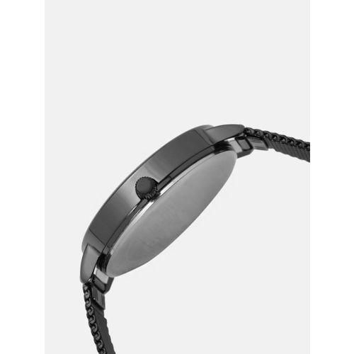 DressBerry Women Gunmetal-Toned Analogue Watch MFB-PN-WTH-K0088L