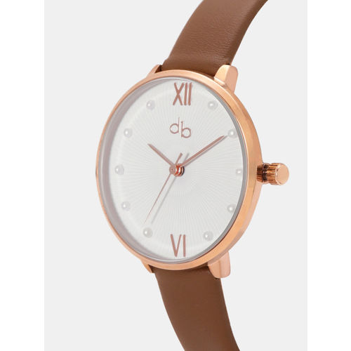 DressBerry Women White Analogue Watch MFB-PN-WTH-K8034L