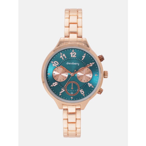 DressBerry Women Teal Green Analogue Watch MFB-PN-WTH-5833L-2