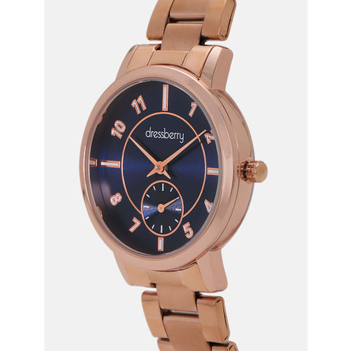 DressBerry Women Navy Blue Analogue Watch MFB-PN-WTH-8131L