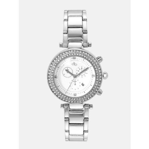 DressBerry Women White Analogue Watch MFB-PN-WTH-6238G-3