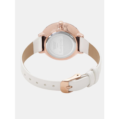 DressBerry Women Peach-Coloured Analogue Watch MFB-PN-WTH-K8034L