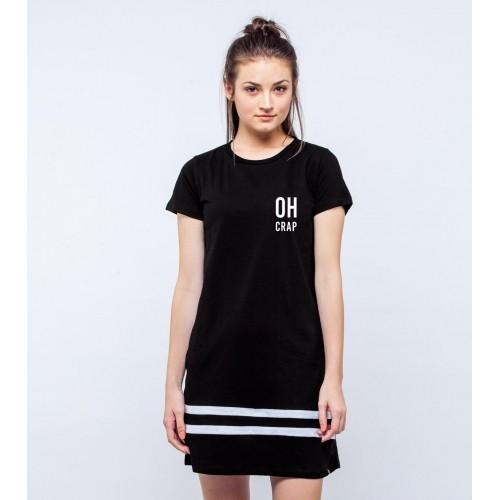 fde7fd3d872 Buy Bewakoof Oh Crap T-shirt Dress online