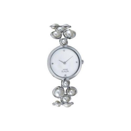 Titan 9971SM01 Silver Analog Watch