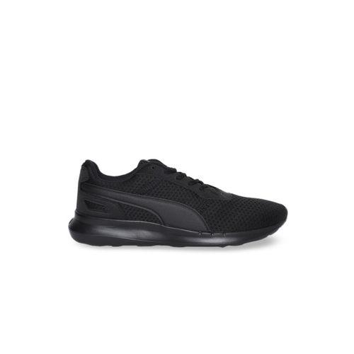 Puma Unisex Black ST Activate Running Shoes